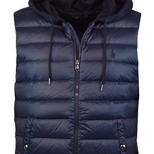 NWOT RL Polo 750 Fill Double-knit Down Vest